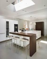 contemporary island kitchen waterfall kitchen countertops 2017 kitchen decor trend