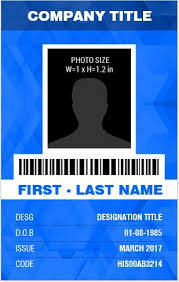 id badge template employee photo id badge template banker u0027s photo