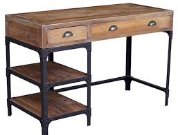 reclaimed wood desk for sale stylish desks with industrial designs and elegant details