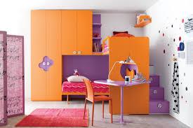 bedroom awesome cheerful teenage bedroom design with orange