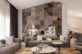 living room rustic round wall texture designs living room ideas