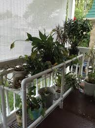 pvc plant stand gardens pinterest plants pvc projects and