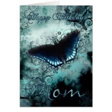 Blue And Green Butterfly - blue butterfly birthday gifts on zazzle