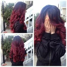 Frisuren Lange Haare Rot by Die Besten 25 Balayage Schwarzes Haar Ideen Auf