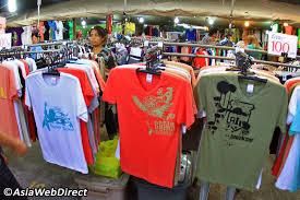 best t shirt shop phuket weekend market phuket town shopping
