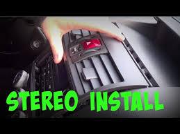 2015 subaru wrx stereo removal install tutorial youtube
