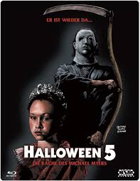 halloween 5 the revenge of michael myers blu ray lenticular