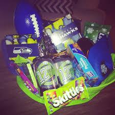 seattle gift baskets sport gift basket for the runner footballer