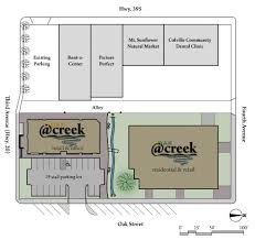 site plan at creek ii llc