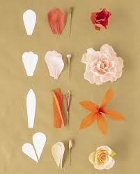 crepe paper flowers how to make crepe paper flowers martha stewart