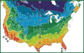 america climate zones map medicinal herbs climate zone
