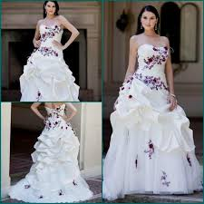 Purple Wedding Dresses Purple And White Wedding Dresses Plus Size Naf Dresses