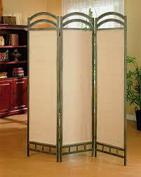 amazon com coaster 3 panel liquid metal folding screen kitchen