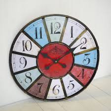 huge wall clocks using oversized wall clocks to decorate your home