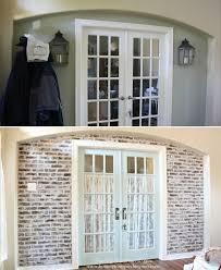 panneau fausse brique vrais ou faux murs en briques tout est stylé bricobistro