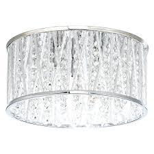 john lewis samantha linen flush ceiling light light flush crystal ceiling light with buy john lewis emilia drum