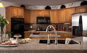 oak cabinets with granite original oak cabinets grigio wintermute countertops excalibur