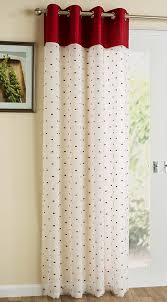 Purple Polka Dot Curtain Panels by Poppy Red Linen Look Curtain Panel Plain Faux Silk Top Squares Off
