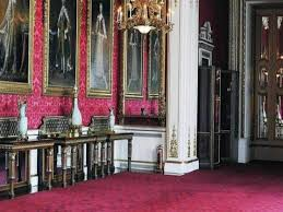 Palace Interior Bookcase Wall Nyc London England Buckingham Palace Interior