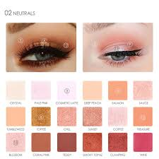 professional 2017 new eyes shadow color waterproof shimmer powder