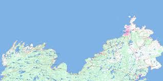 Map Of Newfoundland Canada by Town Of Bonavista Newfoundland Canada
