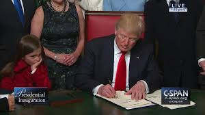 donald trump sworn 45th president united states c span org