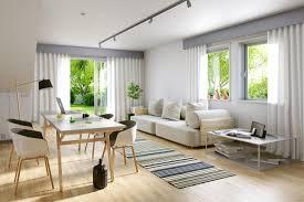 scandinavian apartment 3d interior rendering notriangle studio