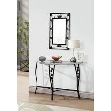 console table and mirror set console table mirror set wayfair