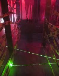 halloween laser light show laser maze halloween haunted house 8 steps with pictures
