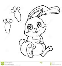baby bunny rabbit coloring pages get in a hat sheet animal online