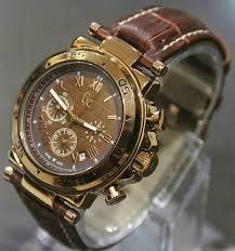 Jam Tangan Casio Chrono jam tangan gc chronograph leather