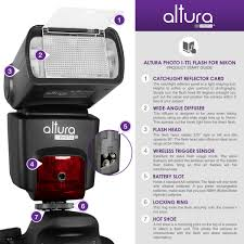 altura photo professional i ttl auto focus dedicated nikon flash