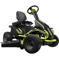 Home Depot Price Adjustment by Ryobi 38 In Battery Electric Riding Lawn Mower Ry48110 The Home