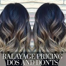 partial hi light dark short hair the dos and don ts of balayage pricing behindthechair com