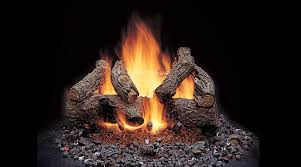ceramic fireplace logs kbdphoto