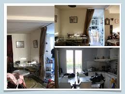 amenagement cuisine salle a manger salon avant après projet de décoration et d aménagement d espace