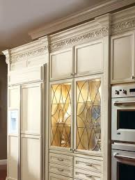 leaded glass kitchen cabinet door inserts stained panels best