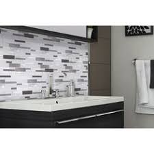 PeelStick Mosaics Peel And Stick Marble Composite Vinyl Mosaic - Tiles for backsplash kitchen