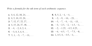 free worksheets sequences worksheets year 7 free math