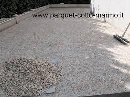 pavimentazione in ghiaia pavimento per esterno pavimenti a roma