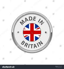 England Flag Round Round Made Britain Badge Uk Flag Stock Vector 635677358 Shutterstock