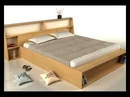 lit en bois massif lit futon