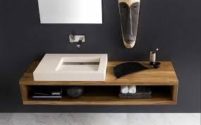 waschtische design waschtisch modern holz mit keramik waschbecken und inklusive