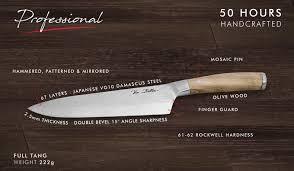 vie belles cutlery unique handcrafted chef u0027s knives by vie belles