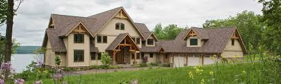 Timber Frame Cottage by Timber Frame Homes