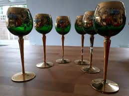 beautiful wine glasses set of 6 beautiful wine glasses in erdington west midlands gumtree
