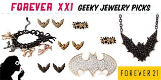 forever 21 geeky jewelry picks set to stunning