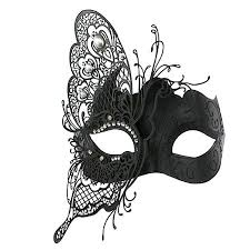 mask party coxeer masquerade mask butterfly laser cut metal mardi gras mask