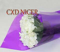 transparent wrapping paper flowers gift wrapping paper materials transparent color cellophane