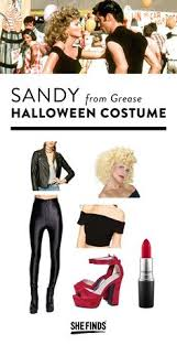 Grease Halloween Costume Sandy Danny Grease Halloween Costume Sandy